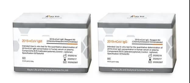雷杜新型冠状病毒(2019-nCoV)IgM、IgG抗体检测试剂具备合法出口资质